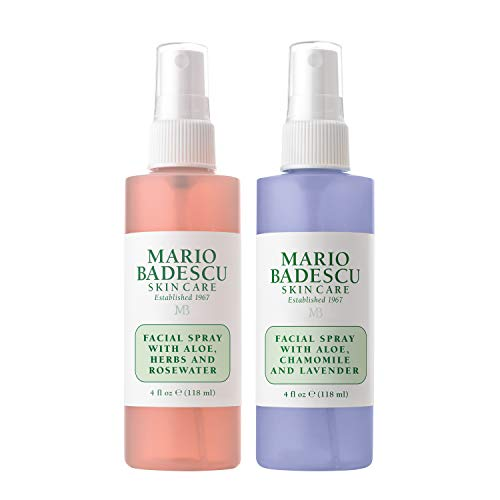 Mario Badescu - Rosewater Facial Spray and Lavender Facial Spray Duo