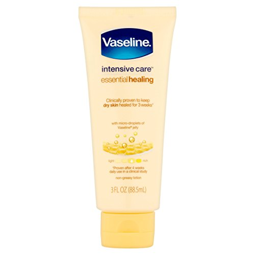 Vaseline - Vaseline Intensive Care Essential Healing Lotion Heal Dry Skin,10 Fl Oz, Pack of 1