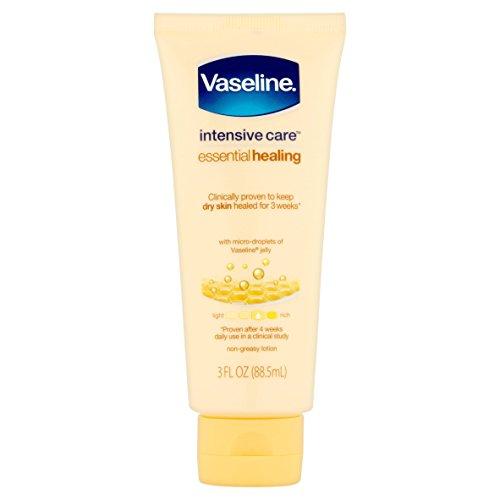 Vaseline - Vaseline Intensive Care Essential Healing Lotion, 3 Oz(pack of 6)