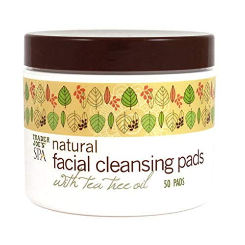 Trader Joe'S - Spa Natural Facial Cleansing Pads with Tree Oil