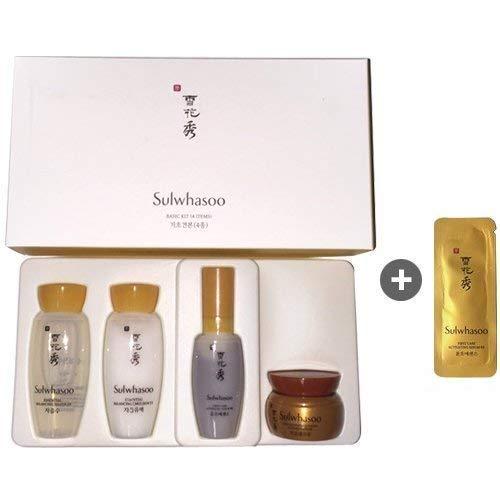 Sulwhasoo - Sulwhasoo Basic Kit 4 Items (Trial Kit) + sulwhasoo sample