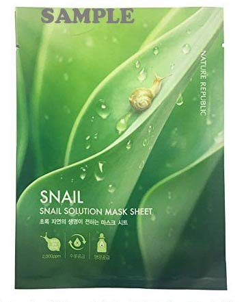 Nature Republic - Nature Republic SNAIL Solution Sample Mask Sheets 30pcs Low Price Value Pack