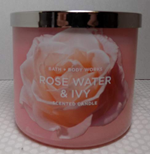 Bath & Body Works - Rose Water & Ivy 3 Wick Candle