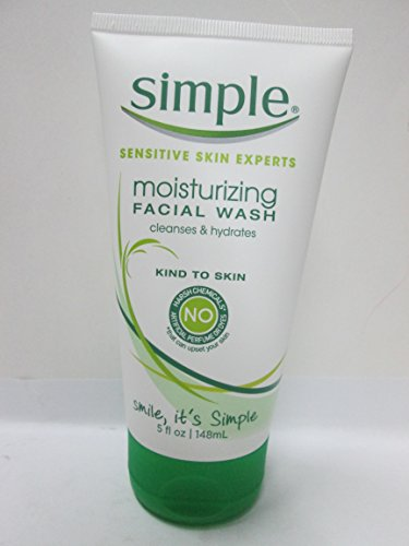 Simple - Simple Moisturizing Facial Wash Non-Drying 5 FL OZ