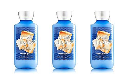 Bath & Body Works - Bath and Body works BEACH NIGHTS SUMMER MARSHMALLOW shea & vitamin e body lotion 8 oz