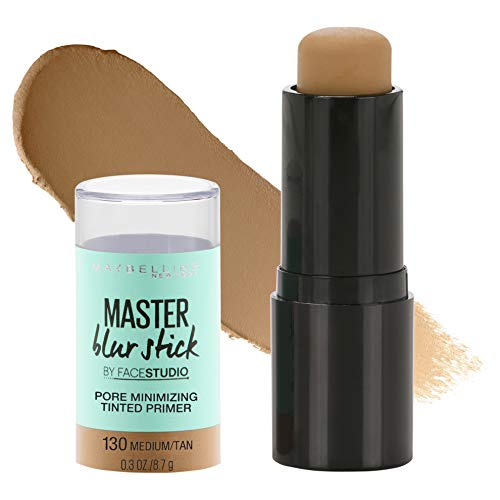 Maybelline - Maybelline Facestudio Master Blur Stick Primer Makeup, Medium/Tan, 0.3 oz.