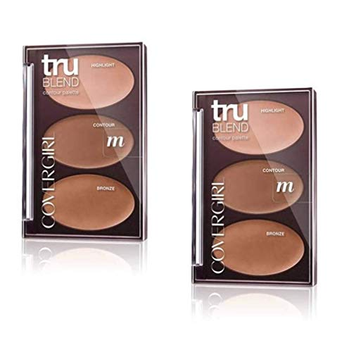 Covergirl - COVERGIRL Trublend Contour Palette Light 0.28 Oz, 0.161 Pound (packaging may vary)