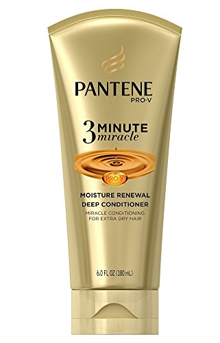 Pantene Pantene Pro-V 3 Minute Miracle Moisture Renewal Deep Conditioner, 6 Ounce (3-Pack)