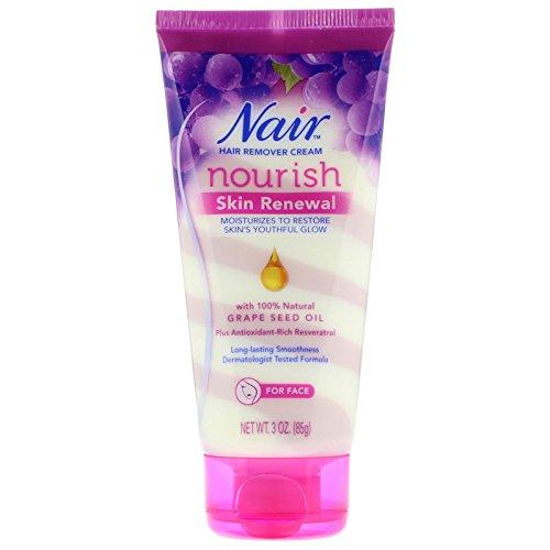 Nair - Nair Hair Remover Nourish Skin Renewal Face 3 Ounce (88ml) (2 Pack)