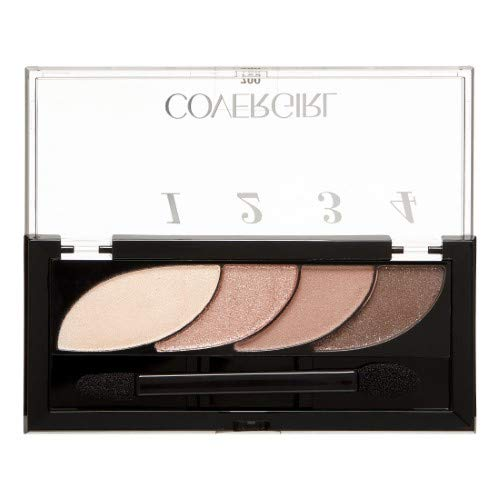 Covergirl - COVERGIRL Eye Shadow Quads, Notice Me Nudes 700, 0.06 Oz