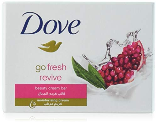 Dove - Dove Beauty Cream Bar Soap, Go Fresh Revive, 100 G/3.5 Oz Bars (Pack of 12)