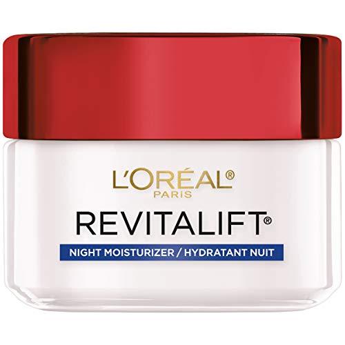 L'Oreal Paris - L'Oreal Paris, RevitaLift Anti-Wrinkle + Firming Night Cream Moisturizer 1.7 oz