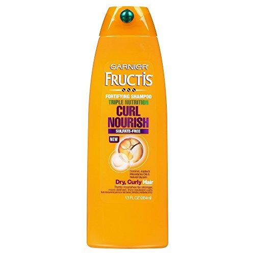 Garnier - Garnier Hair Care Fructis Triple Nutrition Curl Moisture Shampoo, 13 Fluid Ounce
