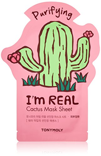 Tonymoly - TONYMOLY I'm Real Cactus Purifying Mask Sheet
