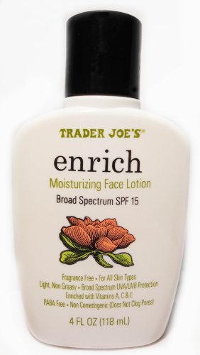 Trader Joe'S - Trader Joe's Enrich Moisturizing Face Lotion Broad Spectrum SPF 15