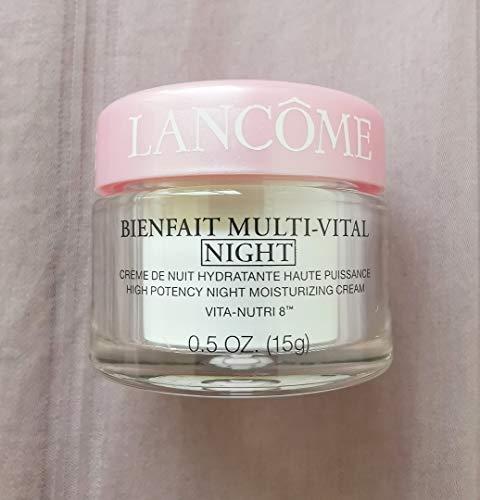 Lancome - Bienfait Mult-Vital Night High Potency Moisturing Cream Vita nutri 8-0.5 oz(15g)