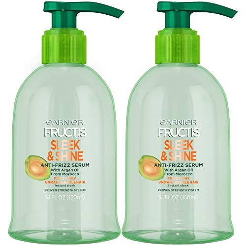 Maybelline New York - Garnier Hair Care Fructis Sleek & Shine Anti-Frizz Serum, 2 Count