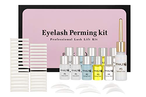 PINKZIO - Premium Eyelash Perm Kit Full Eyelash Lift Kit