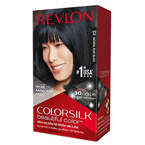 Revlon - Colorsilk Beautiful Color, Natural Blue Black