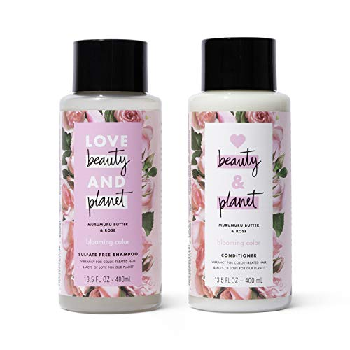 Love, Beauty & Planet - Blooming Color Shampoo and Conditioner