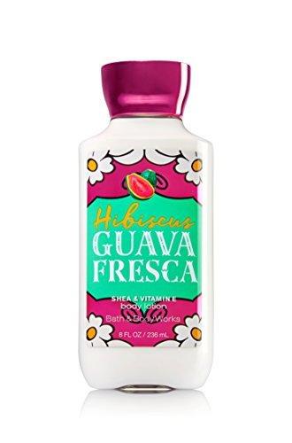 Bath & Body Works - Bath & Body Works Shea & Vitamin E Lotion Hibiscus Guava Fresca