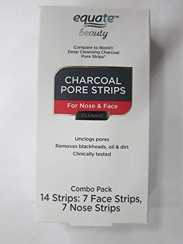 Equate Beauty - Charcoal Pore Combo Strips for Nose & Face