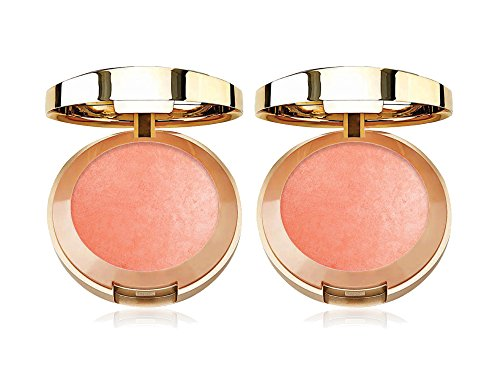 Milani - Set of 2 Milani Baked Blush, Luminoso, 0.12 Ounce bundled by Maven Gifts