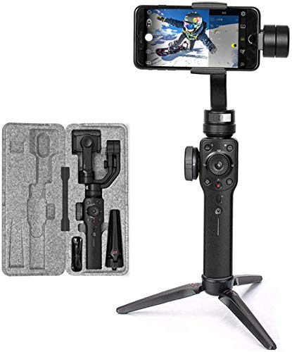zhi yun - Zhiyun Smooth 4 3-Axis Handheld Gimbal Stabilizer for Smartphones, Black