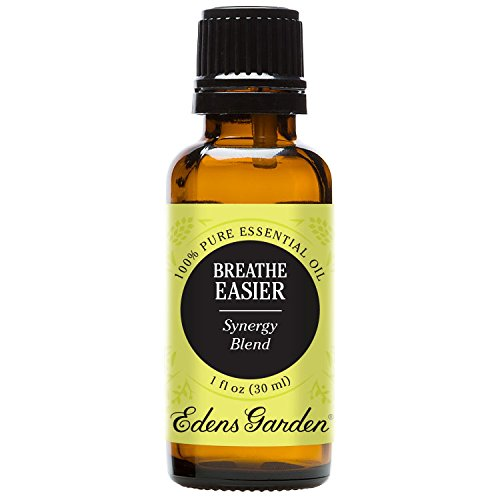 Edens Garden - Edens Garden Breathe Easier Essential Oil Synergy Blend, 100% Pure Therapeutic Grade (Highest Quality Aromatherapy Oils- Great For Allergies & Congestion Relief), 30 ml