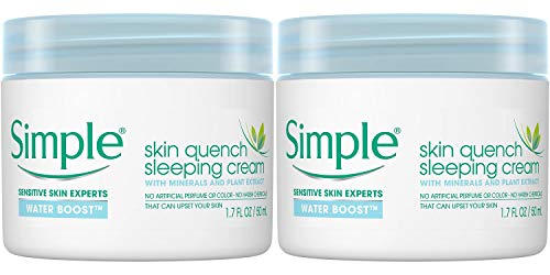 Simple - Water Boost Skin Quench, Sleeping Cream