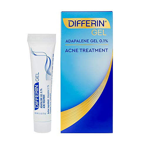 Differin - Adapalene Gel 0.1% Acne Treatment