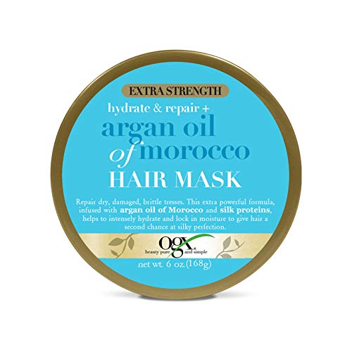 Ogx - OGX Extra Strength Hydrate & Repair + Argan Oil of Morocco Hair Mask, No Parabens, 6 oz