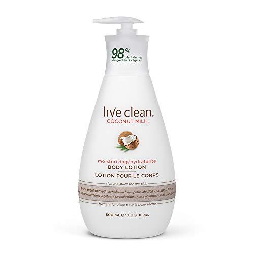 Live Clean - Live Clean Coconut Milk Moisturizing Body Lotion, 17 oz.