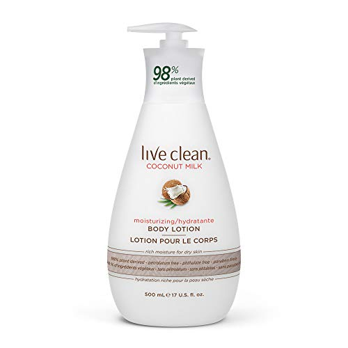 Live Clean - Live Clean Coconut Milk Moisturizing Body Lotion, 17 oz.