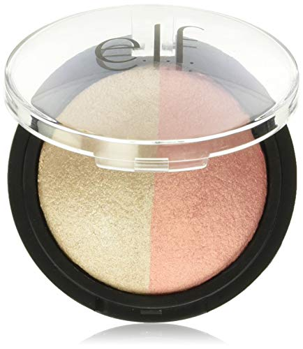 E.l.f Cosmetics - Baked Highlighter & Blush, Rose Gold
