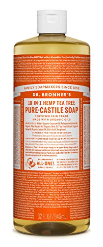 Dr. Bronner'S - Pure-Castile Liquid Soap - Tea Tree