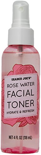 Trader Joe'S - Rose Water Facial Toner Hydrate and Refresh by Trader Joe's (1 Bottle)