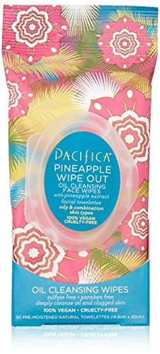 Pacifica - Pineapple Wipe Out Oil Cleansing Wipes