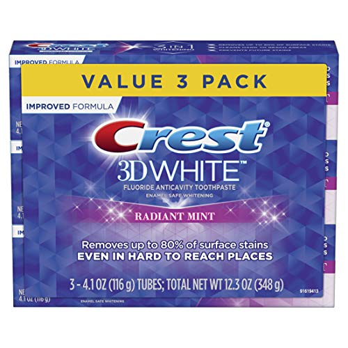 Crest - 3D White Toothpaste Radiant Mint