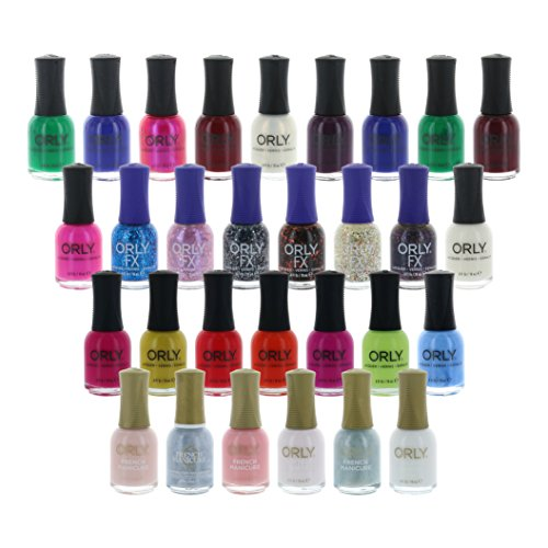 Beauty Brags - Lot of 10 Orly Finger Nail Polish Color Lacquer All Different Colors No Repeats
