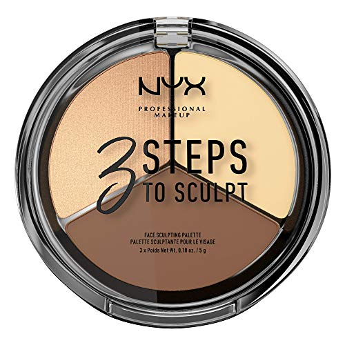 NYX - 3 Steps To Sculpt Face Sculpting Palette