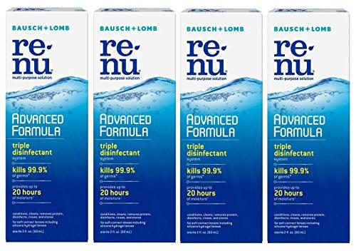 Renu - Renu Fresh Multi-Purpose Contact Lens Solution 2 oz Travel Size (Pack Of 4)