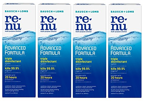 Renu - Renu Fresh Multi-Purpose Contact Lens Solution 2 oz Travel Size (Pack Of 4)