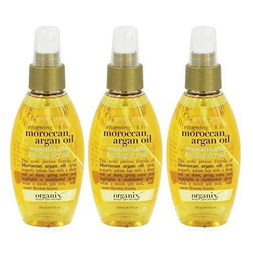 Ogx - OGX Renewing Argan Oil of Morocco Weightless Healing Dry Oil, 4 Ounce (Pack of 3)