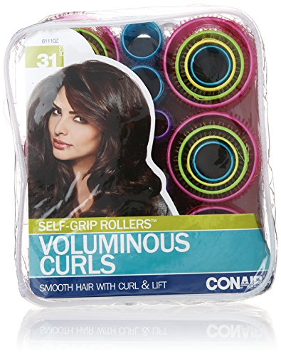 Conair - Conair Self-Grip Rollers, Assorted, 31 Count