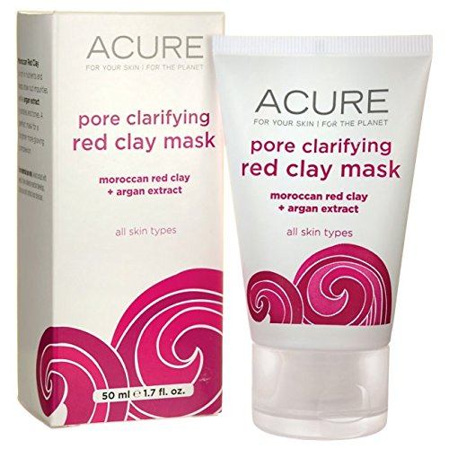 Acure - Pore Minimizing Red Clay Mask, Moroccan Red Clay+Argan