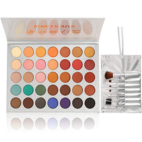 Bestland - Beauty Glazed Eyeshadow Palette Professional Cosmetic Set