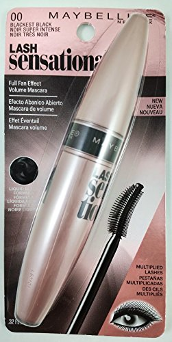 Maybelline - Lash Sensational Washable, Volumizing Mascara