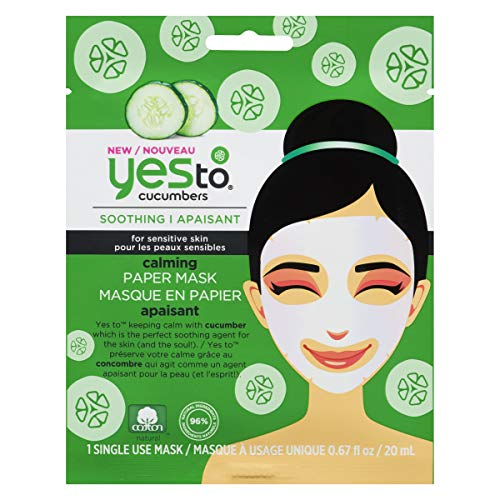 Yes to Cucumbers - Yes to Cucumbers Paper Mask