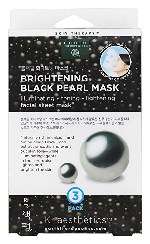 Earth Therapeutics - Brightening Black Pearl Facial Sheet Mask
